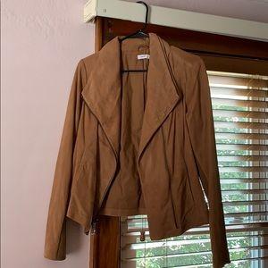 Never worn! Vince suede jacket sz L